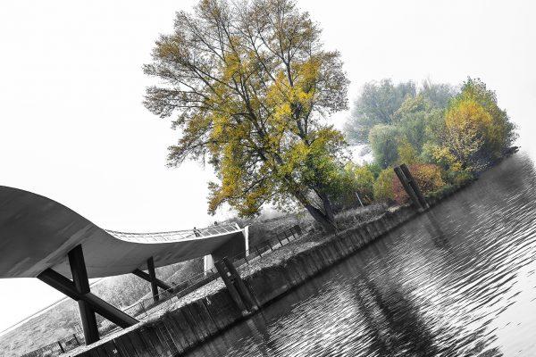 Ölhafenbrücke Raunheim